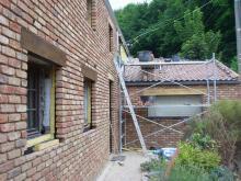 Rénovation de façade et parement en briques